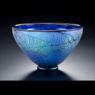 David Lindsay: Blue Lustre Bowl