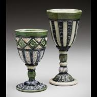Ginger Steele: Pair of Goblets