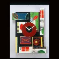 Steven Birnbaum: collage clock