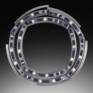 Michele Friedman: Circle Brooch