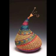 Marilyn Evans: Santa Fe Chicken / wire topped