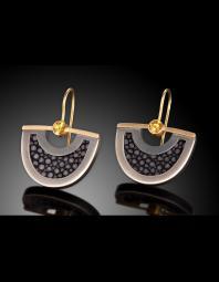 Megan Clark: Stingray Lunar Earrings