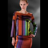 Hans Christensen: Silk Charmeuse Tunic and Skirt