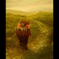 Joachim Knill: backpack bear