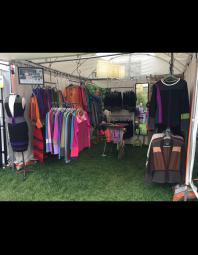 Kathleen Tesnakis: Booth Shot Outdoor