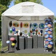 Douglas And Renee Sigwarth: outdoor canopy - booth