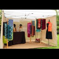 Virginia Jurasevich: Shibori Booth Shot