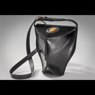 Martin Steinbock: Sculptured Bag with Polished Stone