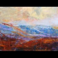 Michael Baggetta: Horz_landscape_curves (Untitled)