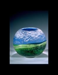 Toby McGee: round landscape vessel