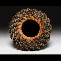 Michael Adcock: Brown and Tan Spiral
