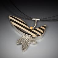 Carla Fox: Winged Pod Pendant