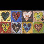 Jill Mayberg: Eight Hearts