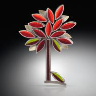 Michele Friedman: Autumn Perfect Tree Brooch