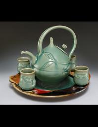 Alan Higinbotham: Celadon Tea Service