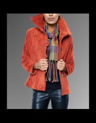 Karen Gelbard: Quilted, woven jacket