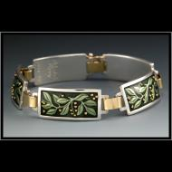 Michele Raney: Leaf Bracelet
