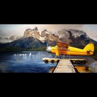 Santiago Michalek: Yellow Float Plane