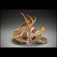 Leslee Burtt: LB18 Contemporary Reindeer Basket Two